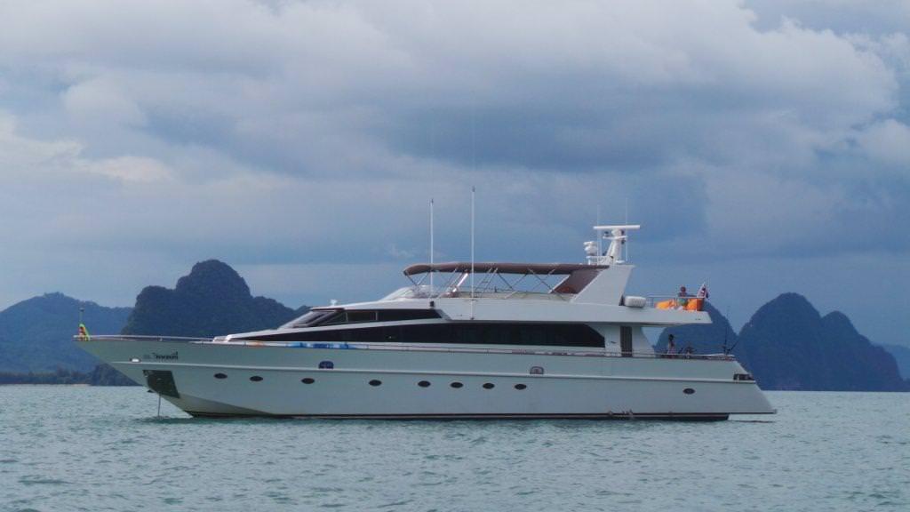 Luxury Yacht Charter Phuket Thailand Slide 1