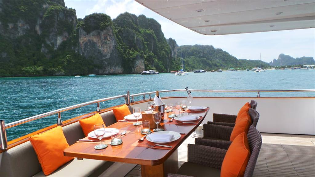 Luxury Yacht Charter Phuket Thailand Slide 3