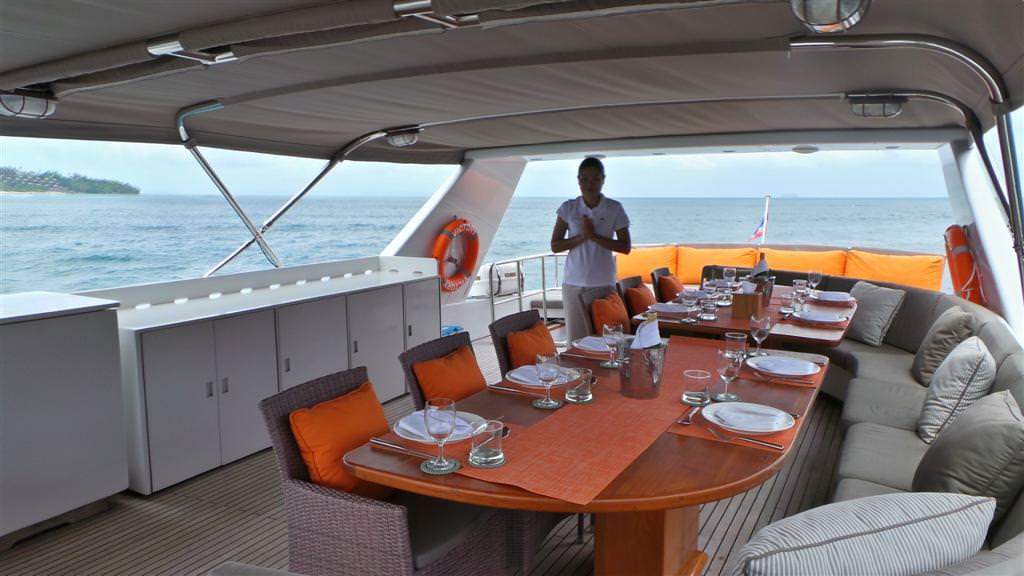 Luxury Yacht Charter Phuket Thailand Slide 4